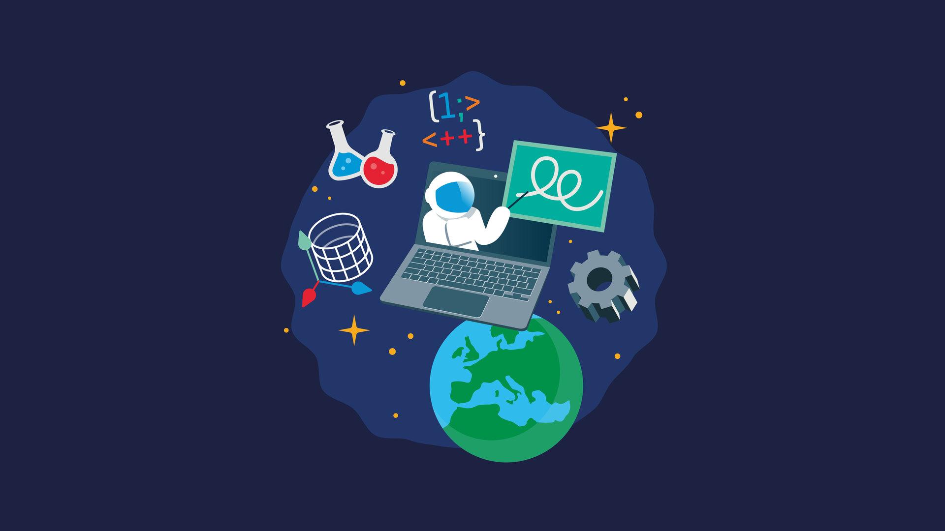 Illustrasjonsbilde fra ESA Education.