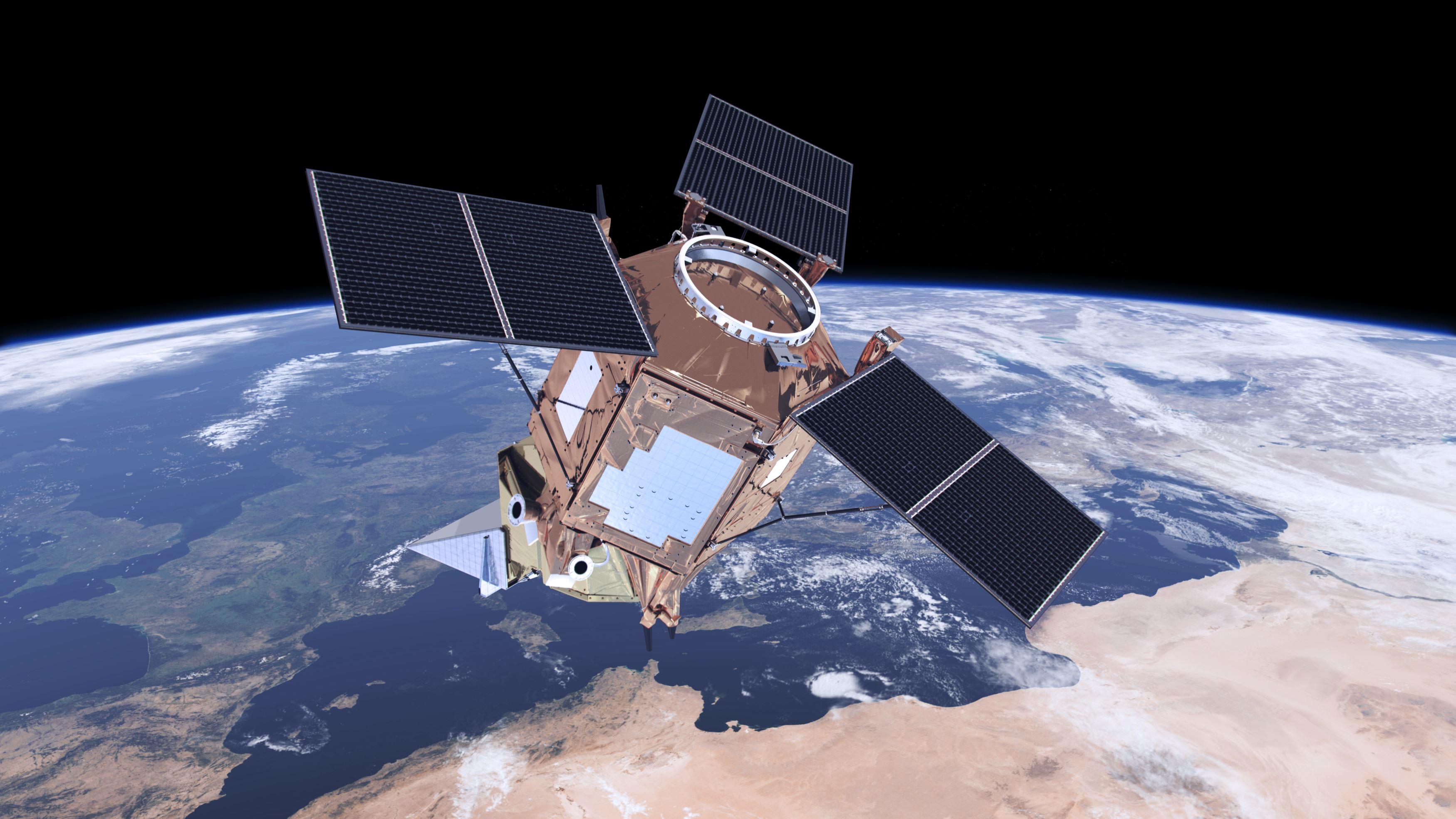 Sentinel-5P måler luftkvaliteten over hele verden.