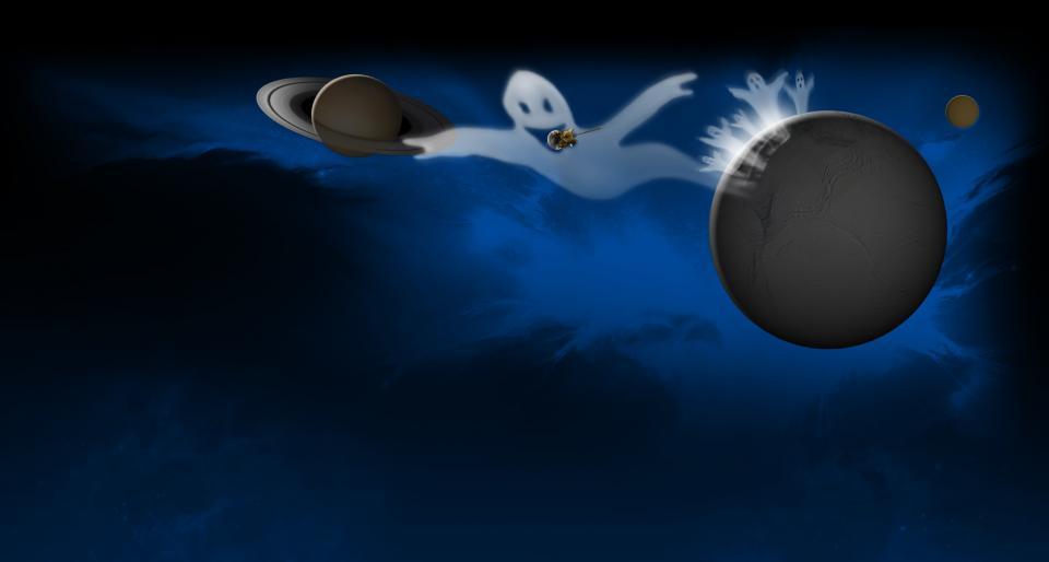 Romsonder har tatt opp skumle lyder ulike steder i solsystemet. Grafikk: NASA