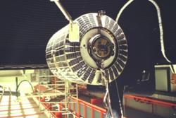 ESRO-1 under testing hos ESA i 1968. Foto: ESA