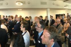 From the opening of ESA BIC Norway in Kunnskapens Hus at Kjeller on the 31st of August 2018. Photo: Kjeller Innovation