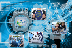 #Hack4no er en årlig idékonkurranse hvor deltakerne bruker satellittdata. Grafikk: #hack4no