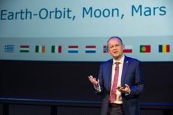 David Parker, direktør for bemannet romfart ved den europeiske romorganisasjonen ESA. Foto: ESA/M. Alexander