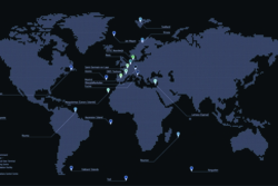 Galileos bakkesegment teller nedlesingsstasjoner, sensorstasjoner og kontrollsentre flere steder i verden. Illustrasjon: ESA