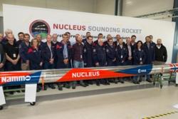 Teamet bak Nucleus, Nammos nye hybridrakett. Foto: Nammo