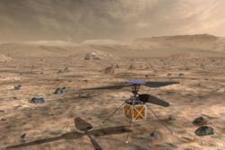 Det lille helikopteret skal teste utforsking av Mars fra lufta.