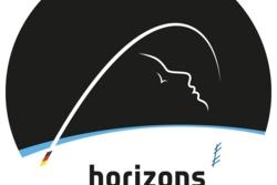 Logoen til Alexander Gersts romferd Horizons. Illustrasjon: ESA/Steinbeis Beratungszentrum/Hochschule Darmstadt