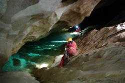 Astronauter på huletrening på Sicilia. Foto: ESA/V. Crobu