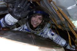 Franske Claudie Haigneré var i 1993 første europeiske kvinne i rommet. Foto: ESA/NASA