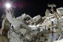 Den amerikanske astronauten Sunita Williams var andre kvinne til å være kommandør på den internasjonale romstasjonen. Foto: NASA