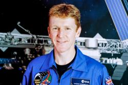 Tim Peake er ESAs britiske astronaut. Han skytes opp til romstasjonen 15. desember 2015 for fem måneder i rommet. Der skal han blant annet forske, undervise, dokke romfartøy og løpe maraton. Foto: ESA