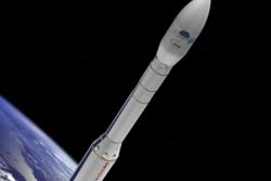 Vega, den europeiske bæreraketten for små til mellomstore nyttelaster. Illustrasjon: ESA