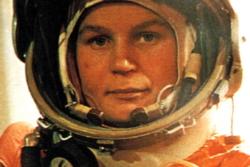 Sovjetiske Valentina Teresjkova var første kvinne i rommet da hun ble skutt opp 16. juni 1962. Foto: Roskosmos