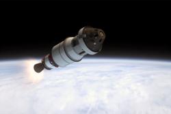 Under Orions første tur i rommet 5. desember 2014 ble både flygning- og landingssystemene testet. Grafikk: NASA
