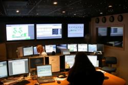 N-USOC, kontrollrom for norsk planteforskning på romstasjonen, ved CIRiS i Trondheim. Foto: N-USOC