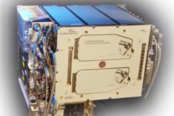 Sentrifuge med vekstkamre (EMCS) til bruk på romstasjonen sett utenfra. Foto: CIRiS