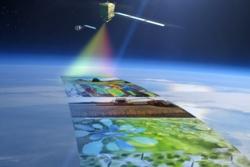 Fluorescence Explorer, FLEX, er den nyeste av de europeiske forskningssatellittene Earth Explorers. FLEX skal måle planters fotosyntese og helse fra rommet. Grafikk: ESA/ATG medialab