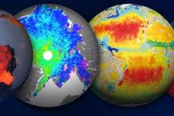 Earth Explorers er den europeiske romorganisasjonen ESAs forskningssatellitter. Nå ønsker ESA seg forslag til en ny Earth Explorer. Grafikk: ESA