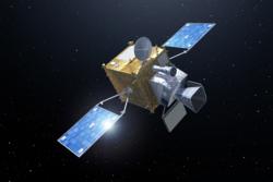 Meteosat Third Generation, en av satellittene i Europas nye generasjon værsatellitter. Illustrasjon: ESA/P. Carril