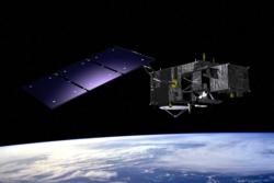 Den europeiske jordobservasjonssatellitten Sentinel 3. Illustrasjon: ESA