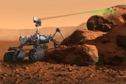 NASAs planlagte rover Mars2020 skal undersøke geologien på Mars etter spor av vann og liv. Grafikk: NASA