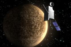 Den europeiske Merkur-sonden Bepi-Colombo.