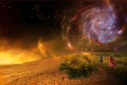 Jakten på liv i rommet, som blant annet NASA-samarbeidet NExSS skal gjøre, foregår med kunnskap om planeten jorda, de andre verdenene i solsystemet vårt, og lenger ut i galaksen. Grafikk: NASA