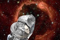 Romteleskopet Herschel har kartlagt stjerner og galakser for å finne mer ut om det tidlige universet og galaksenes utvikling. Grafikk: ESA