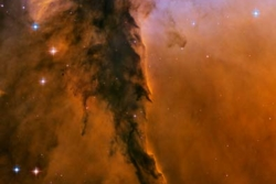 Stjernedannende region i Ørnetåken sett av Hubble. Foto: NASA/ESA