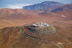 Observatorium i Paranal i Chile. Foto: ESO
