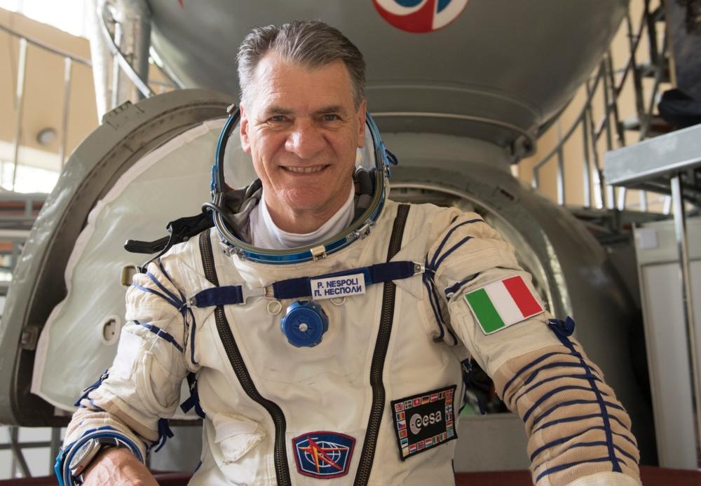 Paolo Nespoli har vært i rommet tre ganger, sist i 2017.