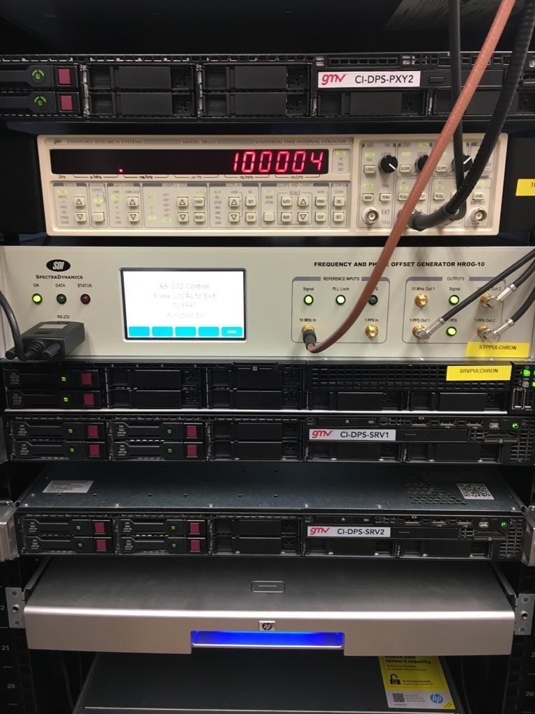 PulChron bruker signalene fra pulsarer til å styre en atomklokke for ekstremt nøyaktig tidtaking. Foto: ESA