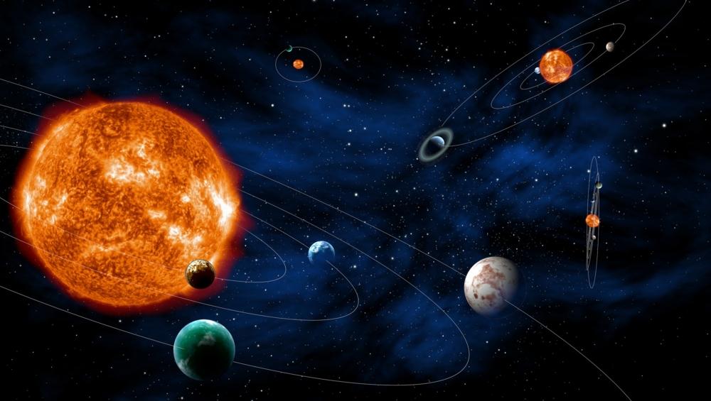 Solsystemer med exoplaneter kommer i mange ulike utgaver. Illustrasjon: ESA/ATG medialab