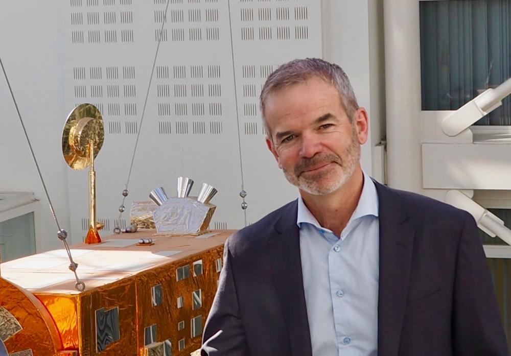 Christian Hauglie-Hanssen, Norsk Romsenters direktør fra juni 2018. Foto: Norsk Romsenter