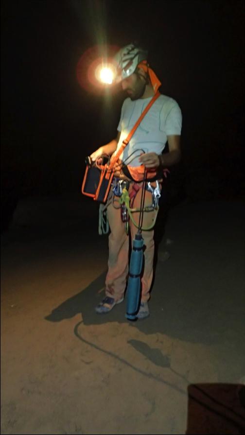 Romfarerne i huletreningen CAVES skal i 2016 teste ut kommunikasjonssystemet xFerra som kan gå gjennom 800 meter med stein. Foto: ESA