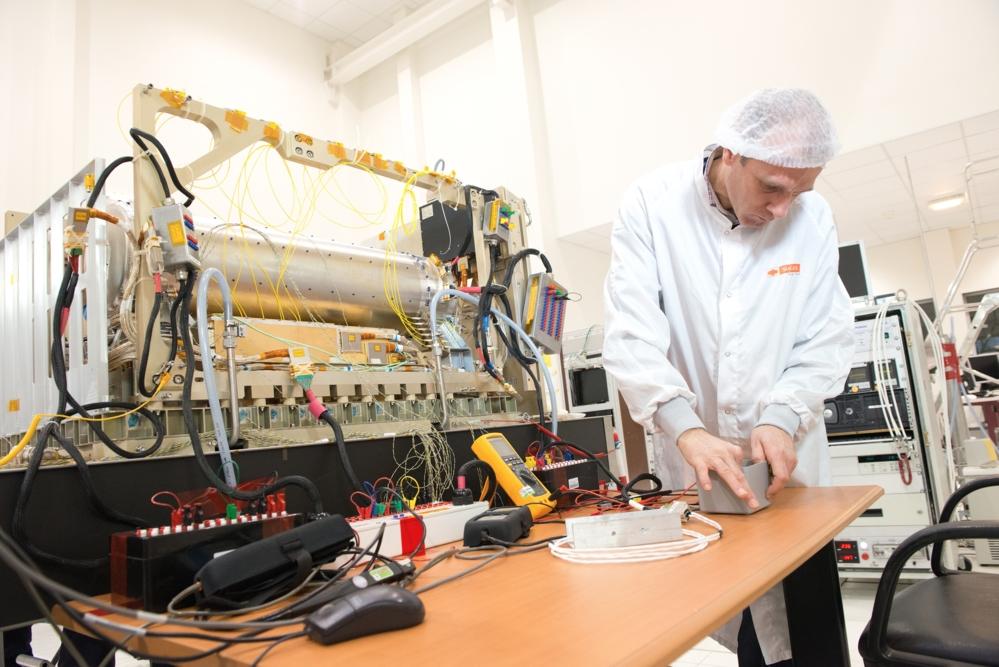 Pharao, atomklokken som skal til romstasjonen i 2016, for å teste grunnleggende fysikkteorier. Foto: CNES/S. Girard