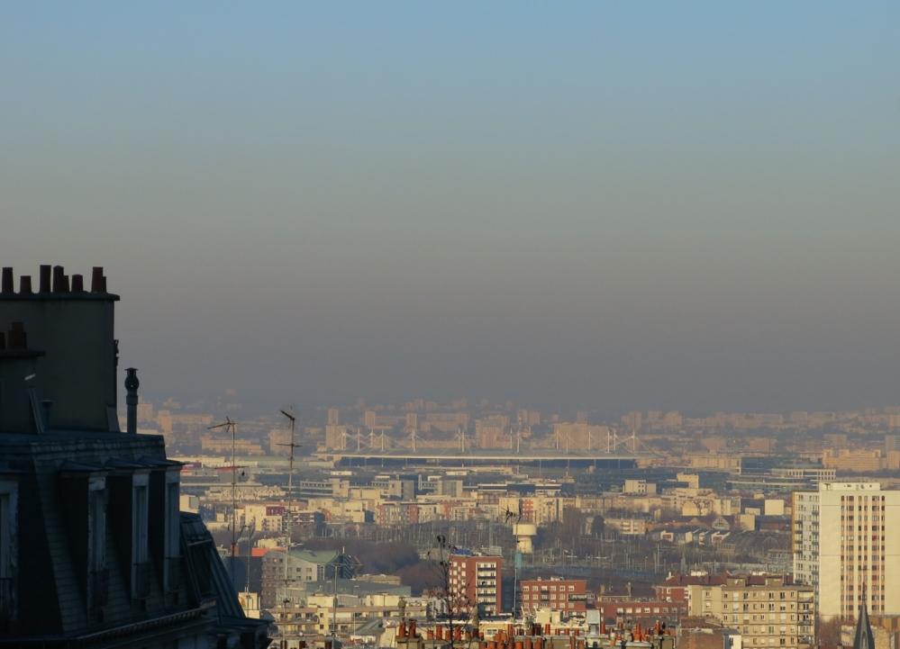 Luftforurensing er både gasser og partikler som er skadelige å puste inn. Foto: Wikimedia Commons