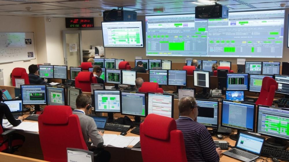 Kontrollsenteret for Galileo i Toulouse i Frankrike. Foto: CNES/E. Grimault