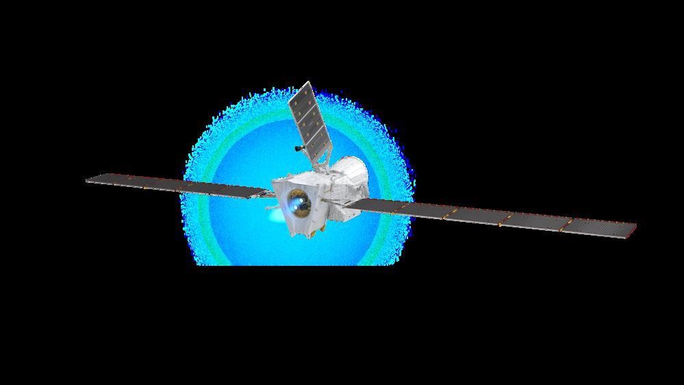 Mercury Transfer Module med de to banesondene pakket godt sammen på seg underveis til Merkur. Illustrasjon: ESA/ATG medialab
