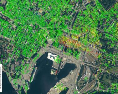 Foto: Copernicus satellittdata 2017