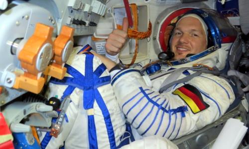 Den tyske astronauten Alexander Gerst. Foto:ESA.