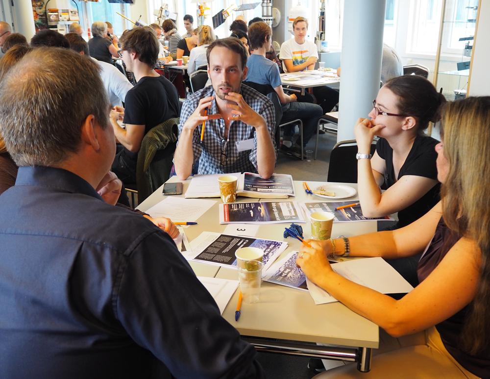 På folkemøtet for ESA hos Norsk Romsenter 10. september 2016. Foto: Norsk Romsenter
