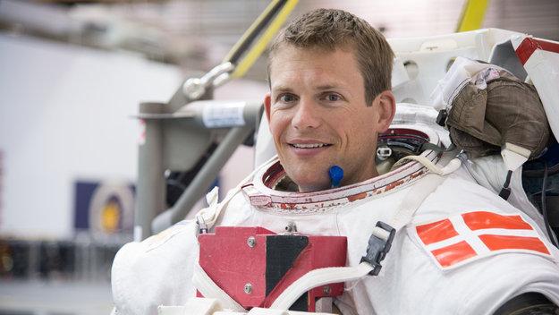 ESAs astronaut Andreas Mogensen blir den første dansken i rommet. Han skytes opp til romstasjonen i september 2015. Foto: NASA/ESA-J.Blair