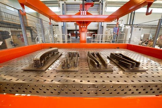 Norsk Titaniums teknikk for 3D-printing i metall er en del av AMAZE, ESAs prosjekt for 3D-printing for rommet. Foto: Torbjørn Tandberg
