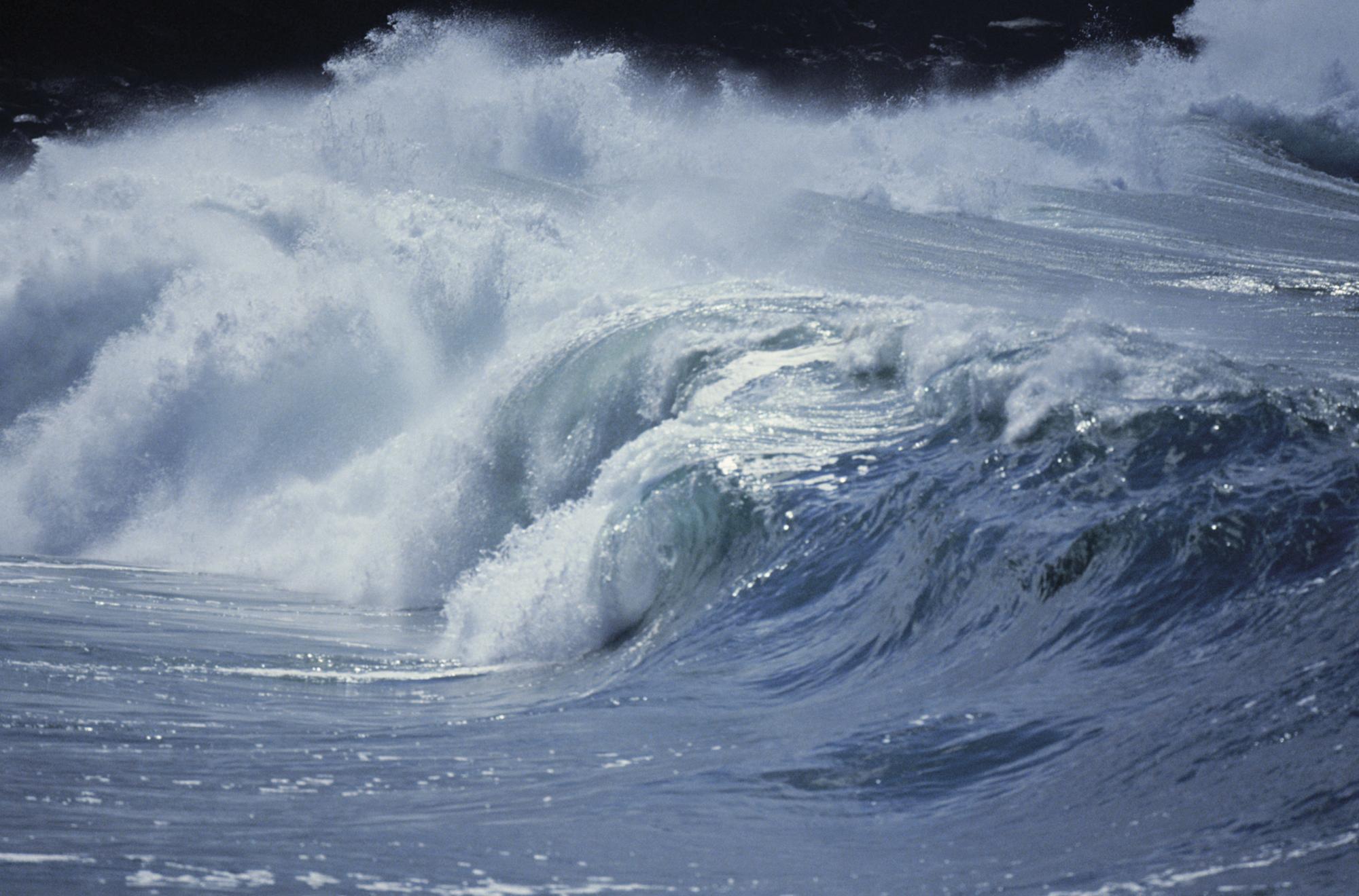 Havet er et av jordas store systemer og et fokus for jordobservasjon. Foto: ESA