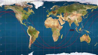 Ny Satellitt Pa Vei Mot Jorda Norsk Romsenter
