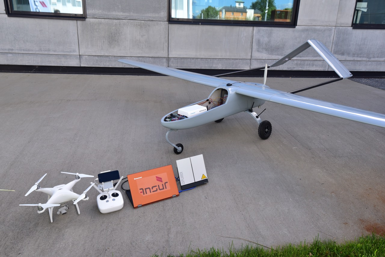 Birdeye sørger for kommunikasjon i små droner. Foto: Ansur.