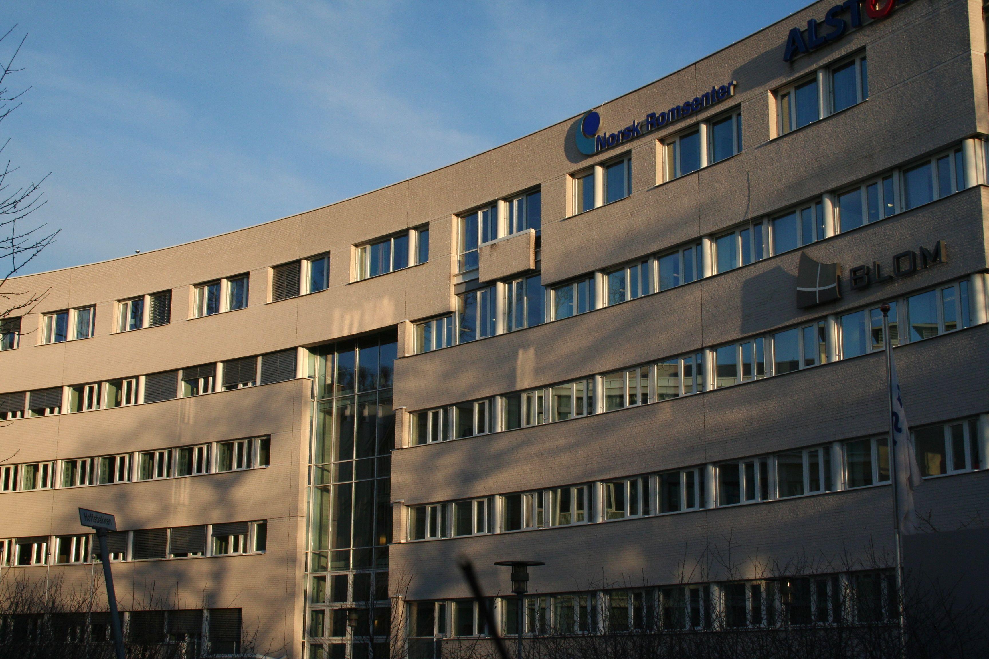 Norsk Romsenter befinner seg i Drammensveien 165 på Skøyen i Oslo.