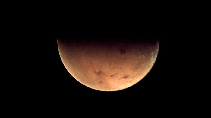 Mars. Foto: ESA.